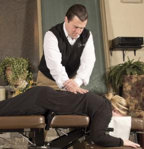 chiropractic adustment
