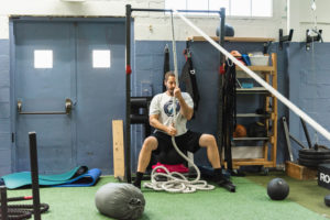 rope pull WHF Personal Training
