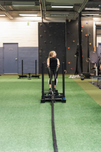 weight sled pull WHF Personal Training