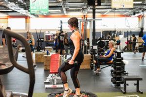 gym floor WHF Personal Training