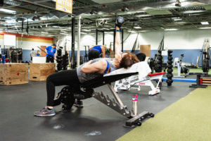 Incline chest press WHF Personal Training