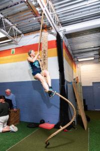 rope climb WHF Personal Training