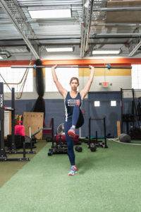 overhead lunges WHF Personal Training