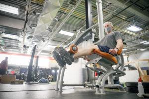 leg extension WHF Personal Training